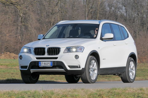 Prova BMW X3 xDrive 20d Futura