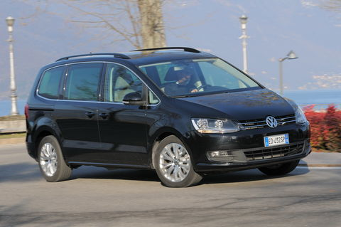 Prova Volkswagen Sharan 2.0 TDI Comfortline BlueMotion Technology