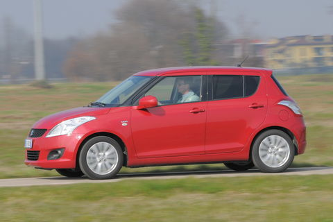 Prova Suzuki Swift 1.3 DDiS GL Top 5 porte