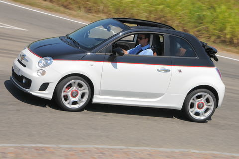 Prova Abarth 500C 1.4 16V Turbo T-Jet Bicolore