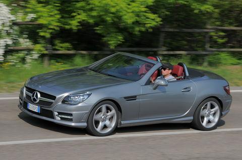 Prova Mercedes SLK 200 CGI Premium