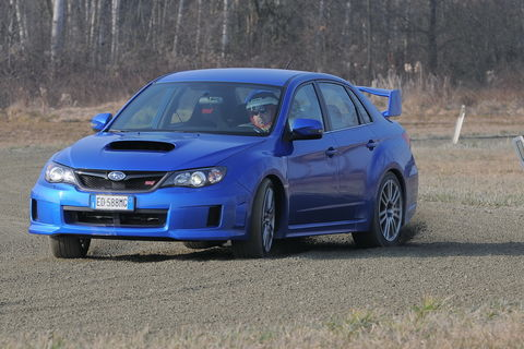 Prova Subaru Impreza WRX STI 2.5 5 porte