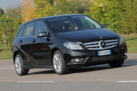 Prova Mercedes B 180 CDI Executive BlueEFFICIENCY EDITION
