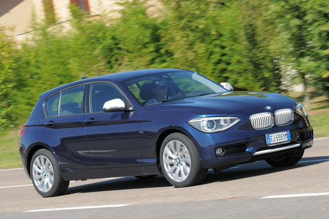 Prova BMW Serie 1 120d Urban 5 porte