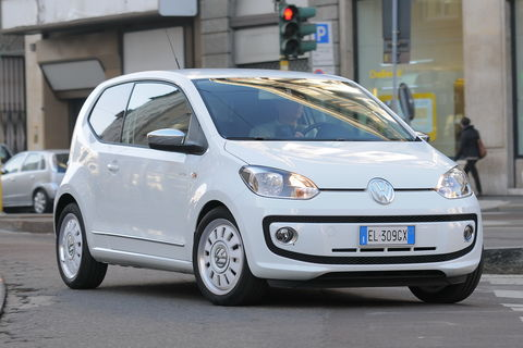 Prova Volkswagen up! 1.0 high up!