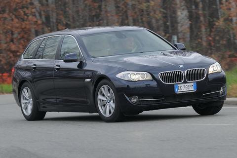 Prova BMW Serie 5 Touring 525d Futura