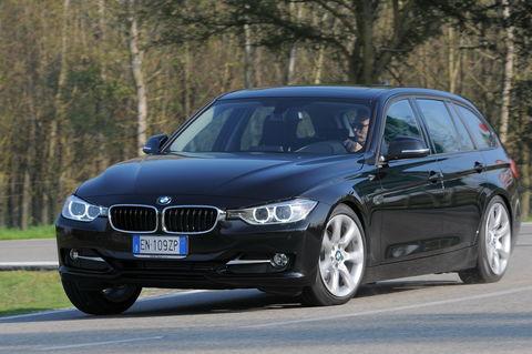 Prova BMW Serie 3 Touring 320d Sport