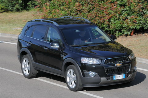 Prova Chevrolet Captiva 2.2 D 184 CV LTZ 4WD Automatica