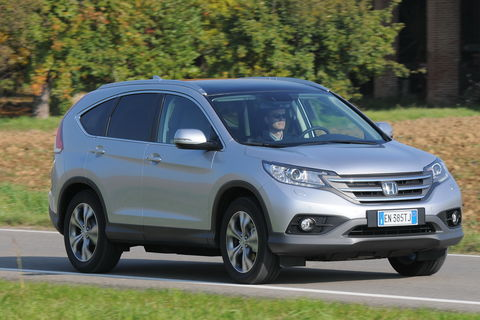 Prova Honda CR-V 2.2 i-Dtec Executive 4WD