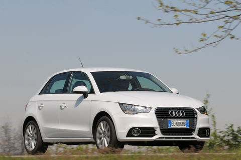 Prova Audi A1 Sportback 1.6 TDI 90 CV Attraction
