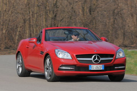 Prova Mercedes SLK 250 CDI Sport 7G Tronic Plus