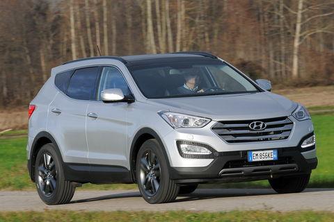 Prova Hyundai Santa Fe 2.2 CRDi Style 4WD Automatica