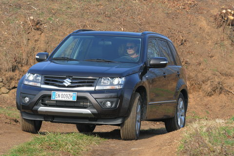 Prova Suzuki Grand Vitara 1.9 DDiS Evolution Plus 5p
