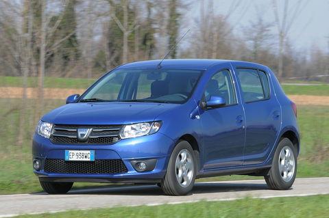 Prova Dacia Sandero 1.2 16V Lauréate GPL