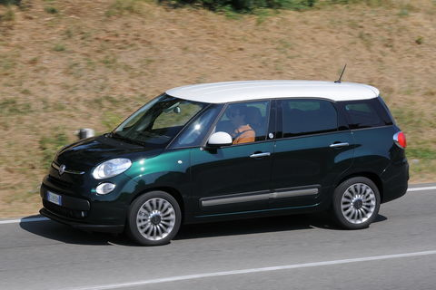 Prova Fiat 500L Living 1.6 Multijet Lounge 7 posti