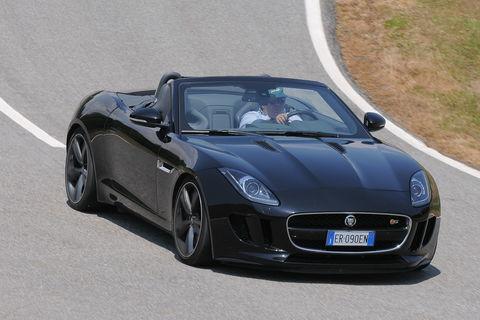 Prova Jaguar F-Type Convertibile 3.0 V6 380 CV Automatica