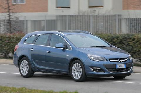 Prova Opel Astra Sports Tourer 1.7 CDTI 110 CV ecoFlex Start&Stop Cosmo