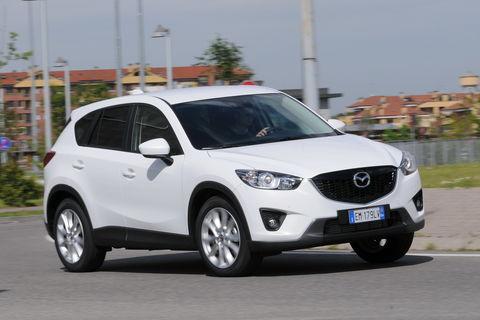 Prova Mazda CX-5 2.2 D 150 CV Exceed Automatica 4WD