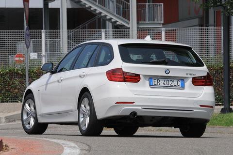 Prova BMW Serie 3 Touring 316d Sport