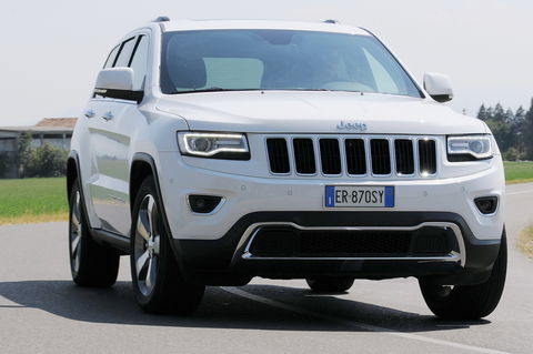 Prova Jeep Grand Cherokee 3.0 V6 CRD Limited