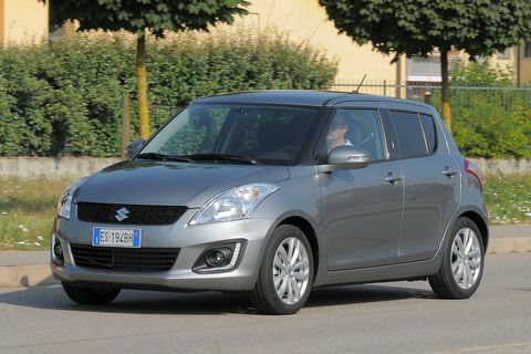 Prova Suzuki Swift 1.2 VVT B-Top 5 porte