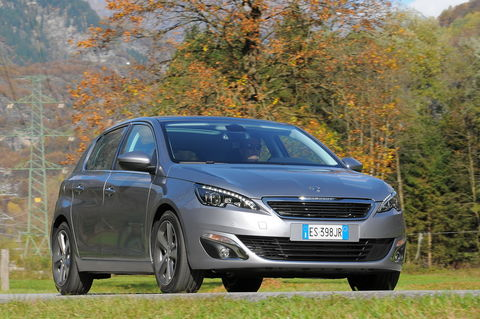 Prova Peugeot 308 1.6 e-HDi 115 CV Allure S&S