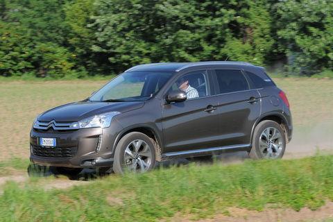 Prova Citroën C4 Aircross 1.8 e-HDi Exclusive 4WD