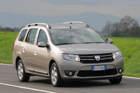 Prova Dacia Logan MCV 1.5 dCi 90 CV Lauréate