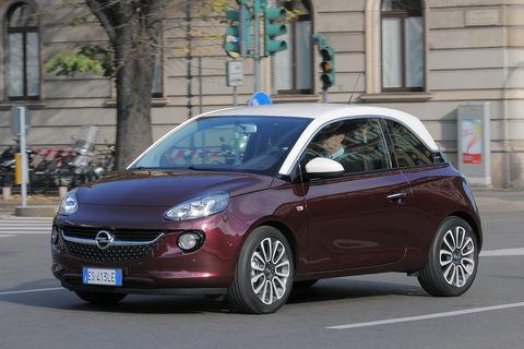 Prova Opel Adam 1.4 87 CV Glam GPL