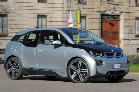 Prova BMW i3 125 kW