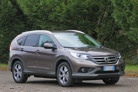 Prova Honda CR-V 1.6 i-Dtec Lifestyle 2WD