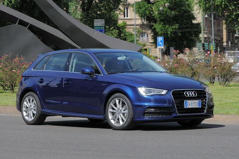 Prova Audi A3 Sportback 1.4 TFSI g-tron Ambition S tronic