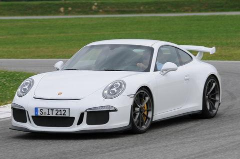 Prova Porsche 911 GT3