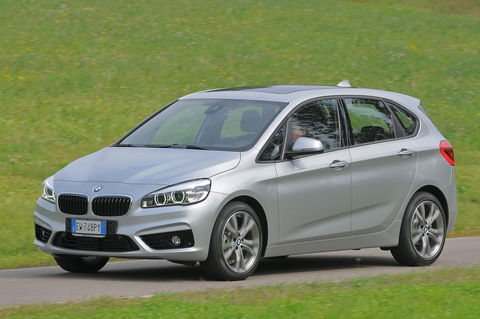 Prova BMW Serie 2 Active Tourer 218d Sport Steptronic