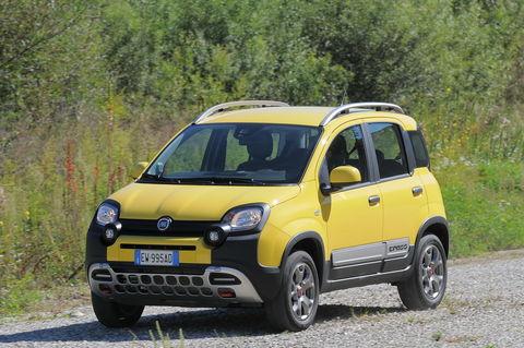 Prova Fiat Panda 4x4 Cross 0.9 Twinair 85 CV 5 posti