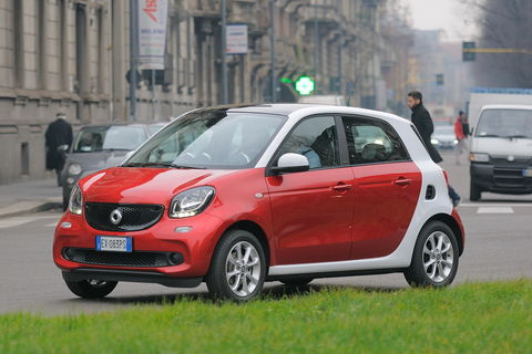 Prova Smart forfour 70 passion
