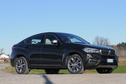 Prova BMW X6 xDrive30d 258 CV Extravagance Steptronic