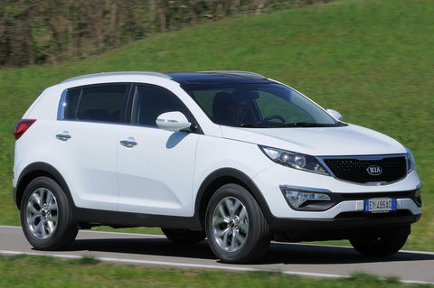 Prova Kia Sportage 1.6 GDI Eco GPL Class 2WD