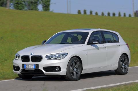 Prova BMW Serie 1 116d Sport Steptronic 5 porte