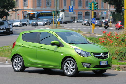 Prova Opel Karl 1.0 75 CV Cosmo
