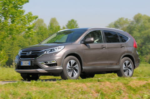 Prova Honda CR-V 1.6 i-DTEC 160 CV Executive 4WD