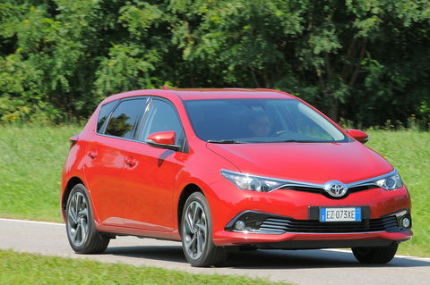 Prova Toyota Auris 1.2 Turbo Active