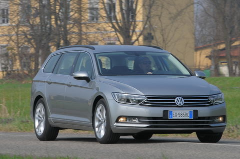 Prova Volkswagen Passat Variant 2.0 TDI 150 CV Business BlueMotion Technology
