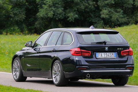 Prova BMW Serie 3 Touring 316d Luxury Steptronic