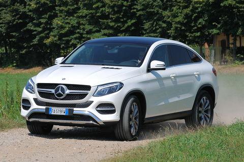 Prova Mercedes GLE Coupé 350 d Exclusive 4MATIC