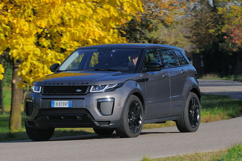 Prova Land Rover Range Rover Evoque 2.0 TD4 150 CV HSE Dynamic automatico