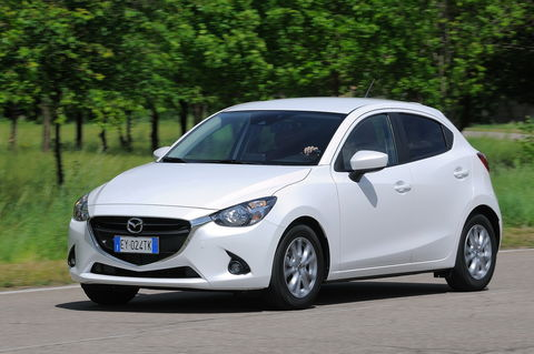 Prova Mazda 2 1.5 75 CV Evolve