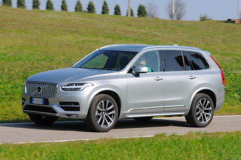 Prova Volvo XC90 D5 AWD Geartronic Inscription