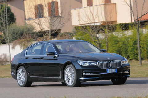 Prova BMW Serie 7 730d Eccelsa
