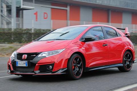 Prova Honda Civic 2.0 i-VTEC Type R